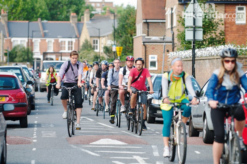 Initiatives such as TfL's Ride to Work Friday have boosted cycling in the UK capital in recent years