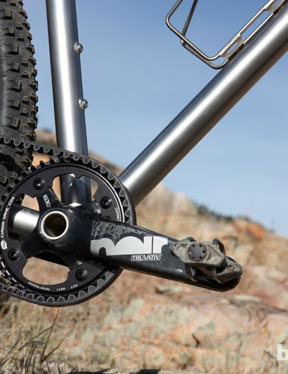 Galpin says she's never ridden anything other than a singlespeed