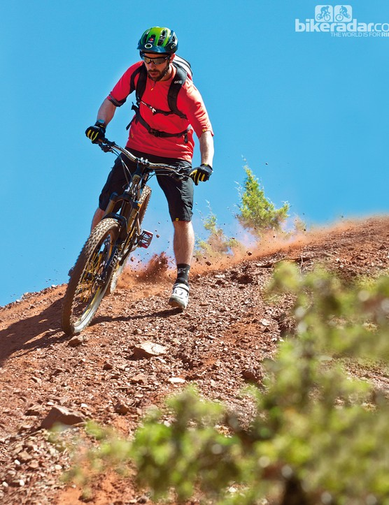 With its Forward Geometry, the Mondraker Foxy XR is a very capable machine