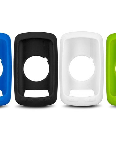 Garmin are offering a range of silicone rubber cases for their Edge 810 device. These will also fit the 800 model