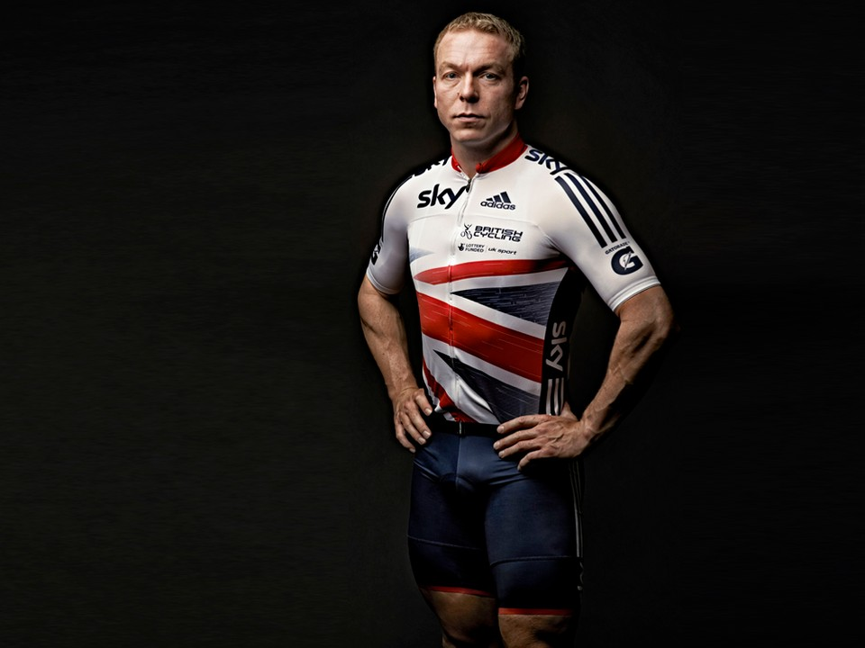 64994f88817 Sir Chris Hoy in the new British Cycling/Adidas team kit