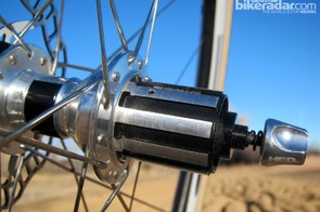 There's a separate grease port for the freehub body, although you obviously have to remove the cassette to get to it