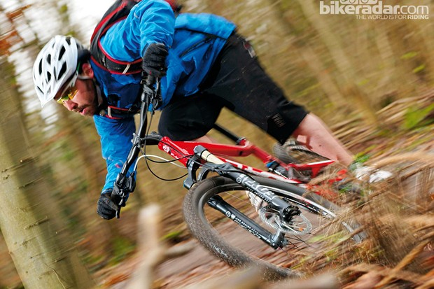 The Sortie Comp works better as an XC machine than a full sus trail bike