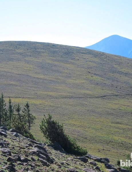 The Monarch Crest Trail offers quintessential Colorado mountain biking