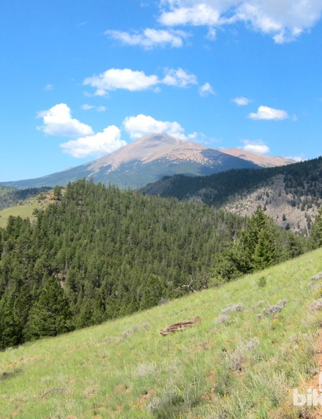 Beautiful weather is more common than not, but always be prepared for the worst when riding in such high, unstable Colorado conditions