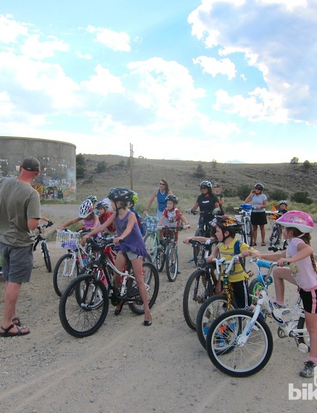 Fun for the whole family, the Monarch Crest Crank event offers a kids' race and a cruiser ride in addition to a Crest Trail ride