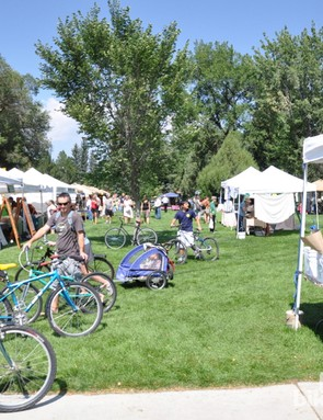 Check the farmers' market schedule as it offers a great post-ride lunch or pre-ride shopping