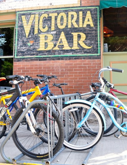 If the hip, artistic and athletic culture of Salida gets tiresome, belly up to the bar in Victoria for a change of style