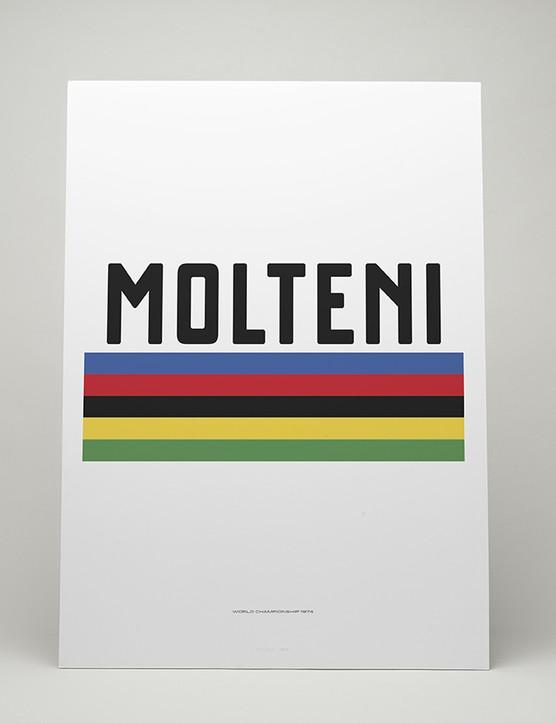 Merckx World Championships '74 print