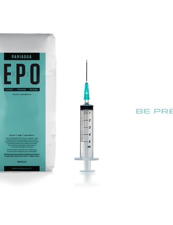 Paniagua EPO coffee (syringe not included…)