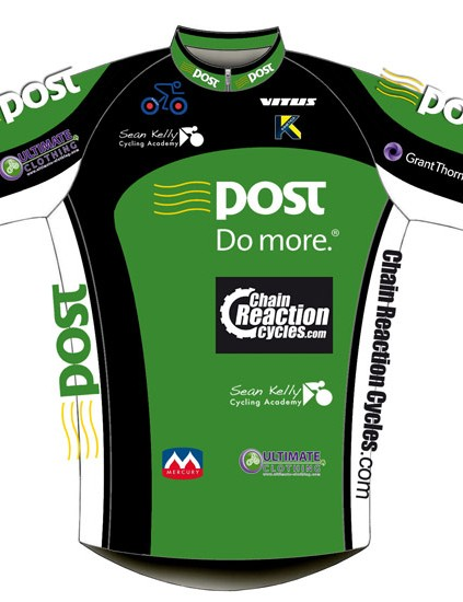 The An Post-Chain Reaction Cycles-Sean Kelly jersey (front)