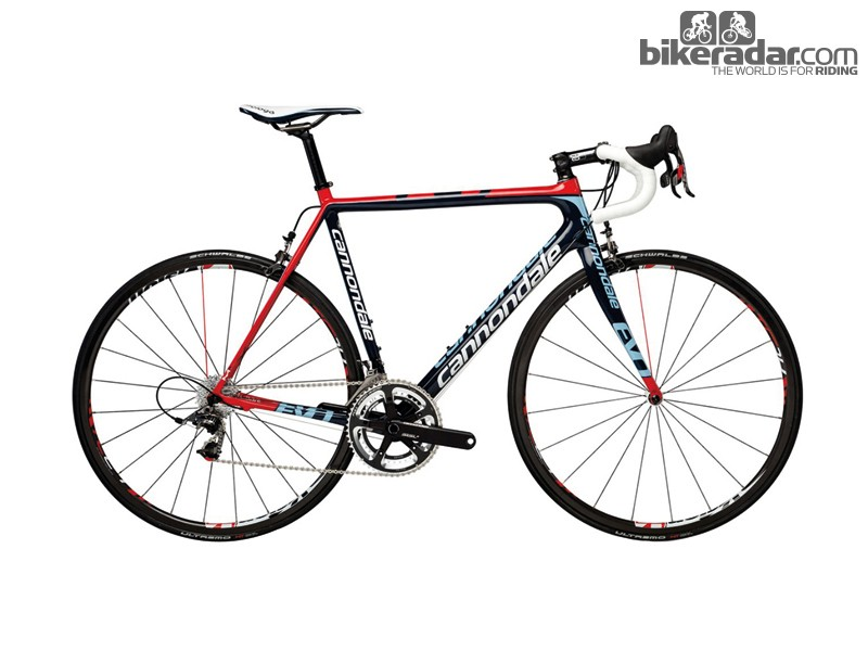 Cannondale SuperSix Evo Hi-Mod Red Racing
