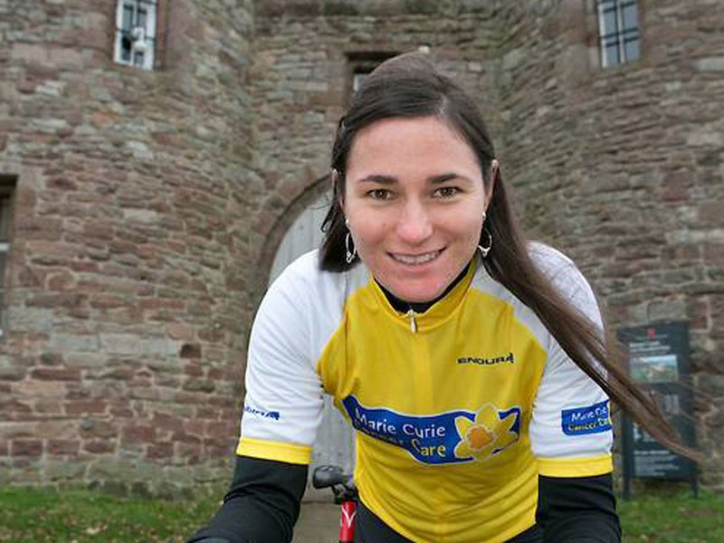 Dame Sarah Storey has backed the Marie Curie Cancer Care Etape Mercia