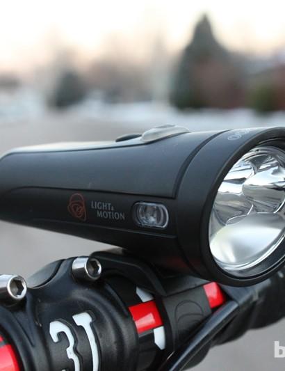 Three LEDs are used to create a uniform beam