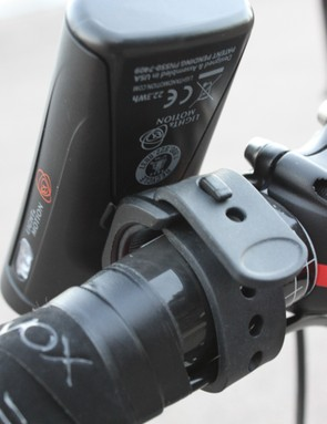 The integrated mounting bracket is easy to use and makes swapping the light between bikes a breeze