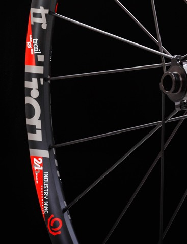 The Trail 24 wheelset is aimed at cross-country racers and those who ride light on the bike