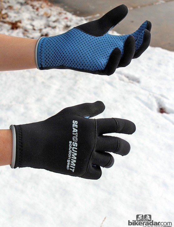 Sea to Summit's Solution Gear Paddle gloves are intended for kayaking but they're fantastic for cyclocross racing, too - better than many cycling-specific gloves we've tried, in fact