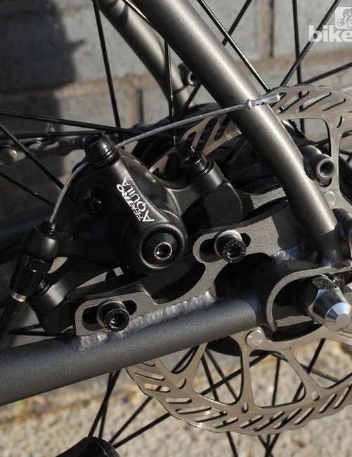 The Ristretto comes with disc brakes