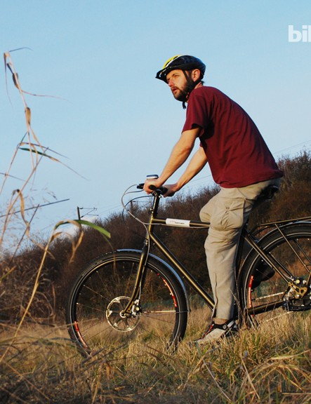 The Tout Terrain Amber Road is an ideal off-road touring and commuting bike