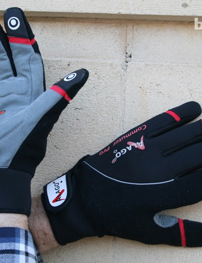 Alago Commuter heated cycling gloves