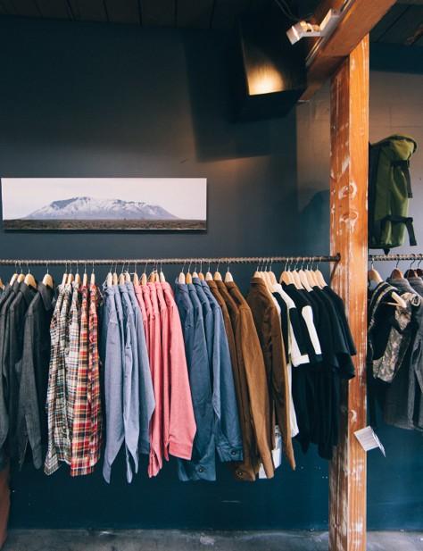 Inside Smith and Berrett's Standard & Strange shop