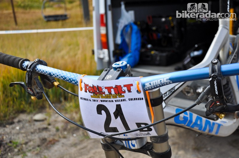 We tested the SMAC SW820 at full width during a 12-hour downhill race