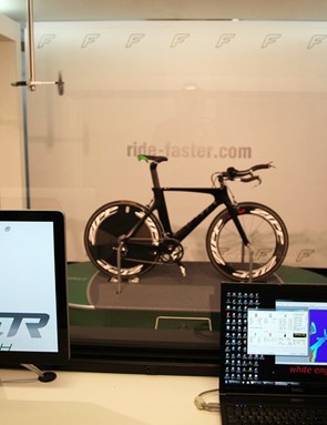 FASTER has its own in-house wind tunnel to help clients refine their positions