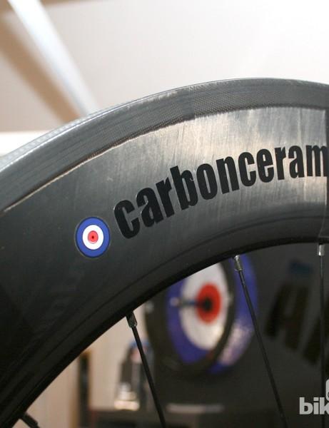 ARC Carbon Ceramic Wheels complete with Mod symbol