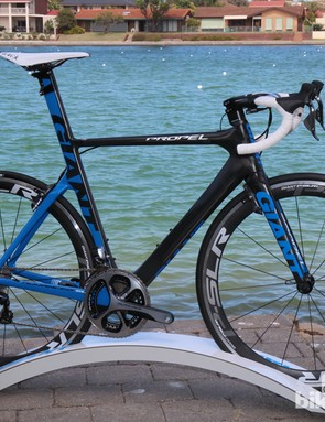 Giant's new Propel (and the women's-specific Envie) are supposedly the fastest aero road bikes available