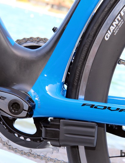 Bottom bracket stiffness on the new Propel Advanced SL doesn't quite match that of Giant's TCR Advanced SL but according to road category manager Jon Swanson, it isn't far off - not enough for most people to notice, anyway