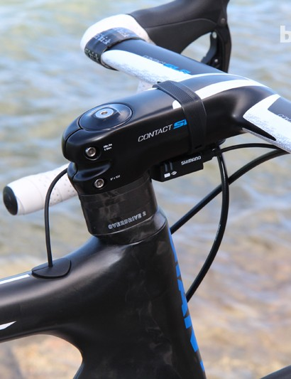 Giant has even fitted the Propel Advanced SL and Envie Advanced with an aero-profile carbon fiber upper headset cone and matching spacers