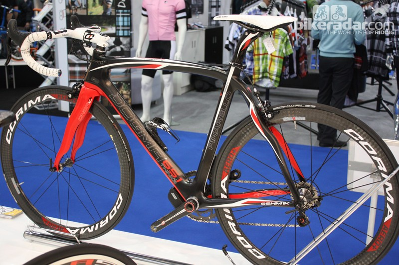 The Pinarello Dogma is one of many bikes that Halfords will not be stocking in the range