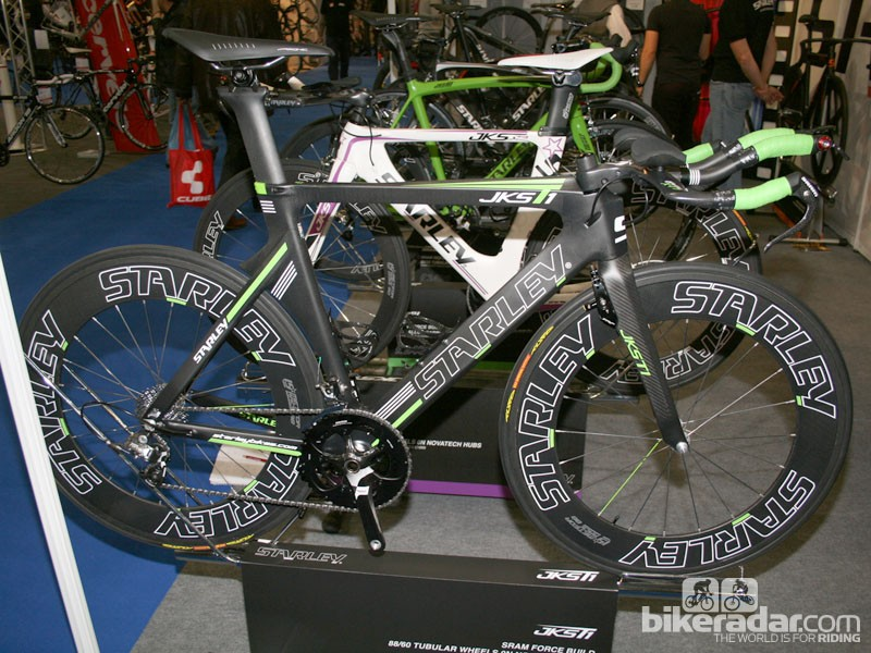 Starley's new time trial bike, the JKS T2