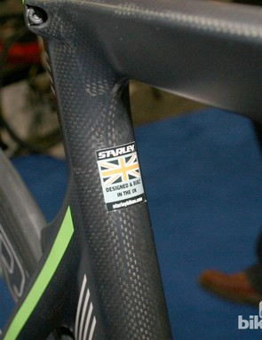 Starley bikes are designed and tested in Britain
