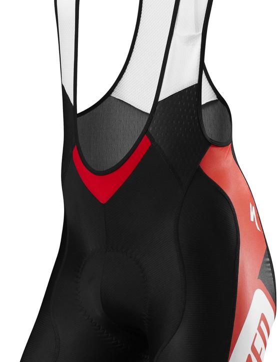 $175 SL Pro bib shorts