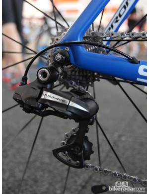 Shimano-sponsored teams at the Tour Down Under are still using the previous-generation Dura-Ace Di2 7970 group