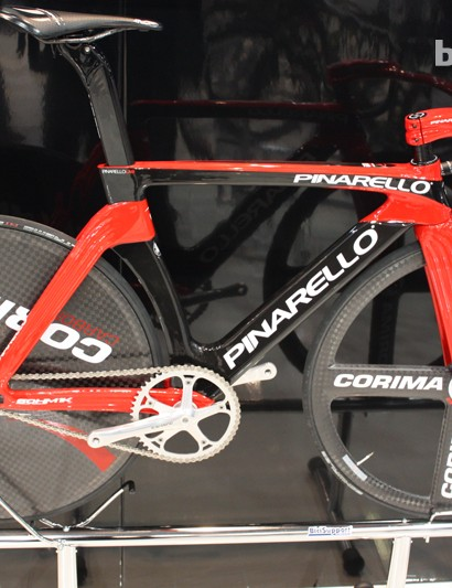 The 2013 Pinarello MAAT track bike retails for £9,999