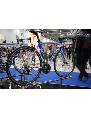 A Pinarello Dogma finished in British Cycling team colours