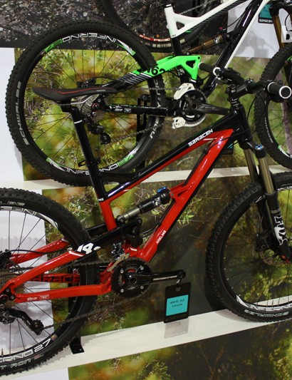 Saracen's Ariel is available in 140mm and 160mm variants for 2013