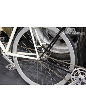 These urban bikes were rocking a tug of war setup