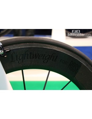 Lightweight Fernweg wheels customised for Rose