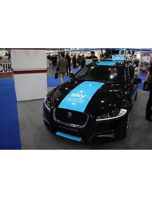 The Jaguar Team Sky car