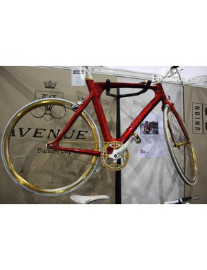 Avenue's bikes didn't fail to grab our attention – this is the Madison Pista model