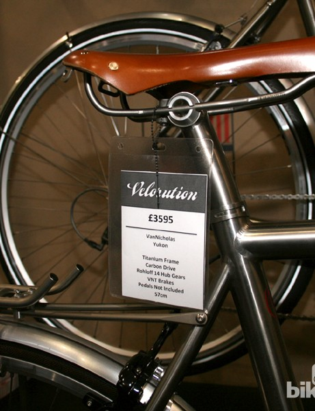 This Yukon could be yours for £3,595 from London boutique shop Velorution