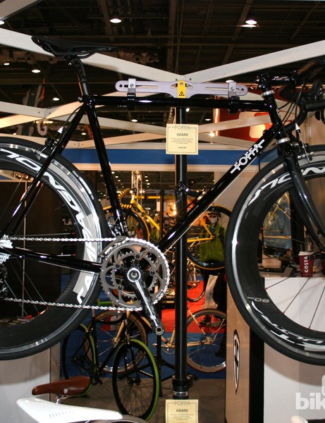 This Foffa speed machine, with Campagnolo Chorus and Bullet 80 wheels, won't leave you much change from £3,000