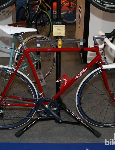 Foffa geared bike - halfway between retro and modern