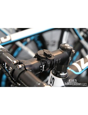 Garmin currently dominates the GPS computer landscape in the pro peloton but the mount on this Ag2R-La Mondiale machine goes with a Bryton device