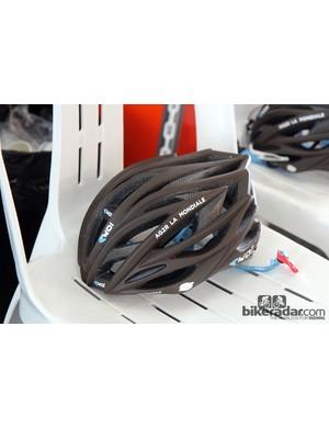 Ag2R-La Mondiale's sleek looking Ekoi Excel helmet