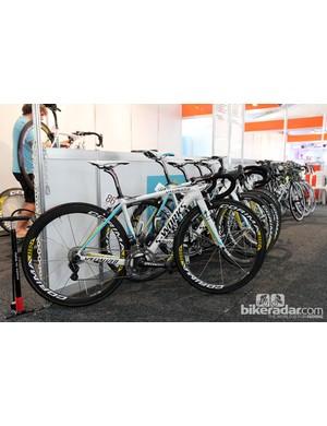 Astana's Specialized S-Works Tarmac SL4