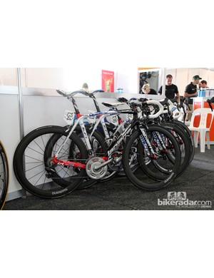 FDJ's Lapierre Xelius machines for the Tour Down Under